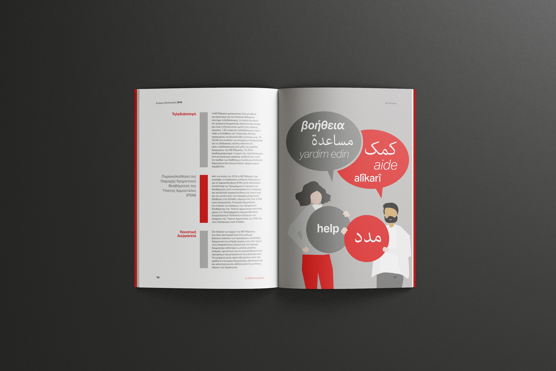 Metadrasi NGO 2018 Annual Report